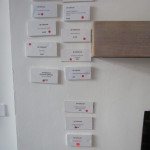Hurrah for red dots. Fourteen pintings sold.