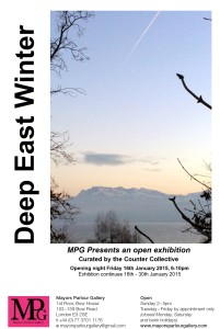 MPG gallery flyer