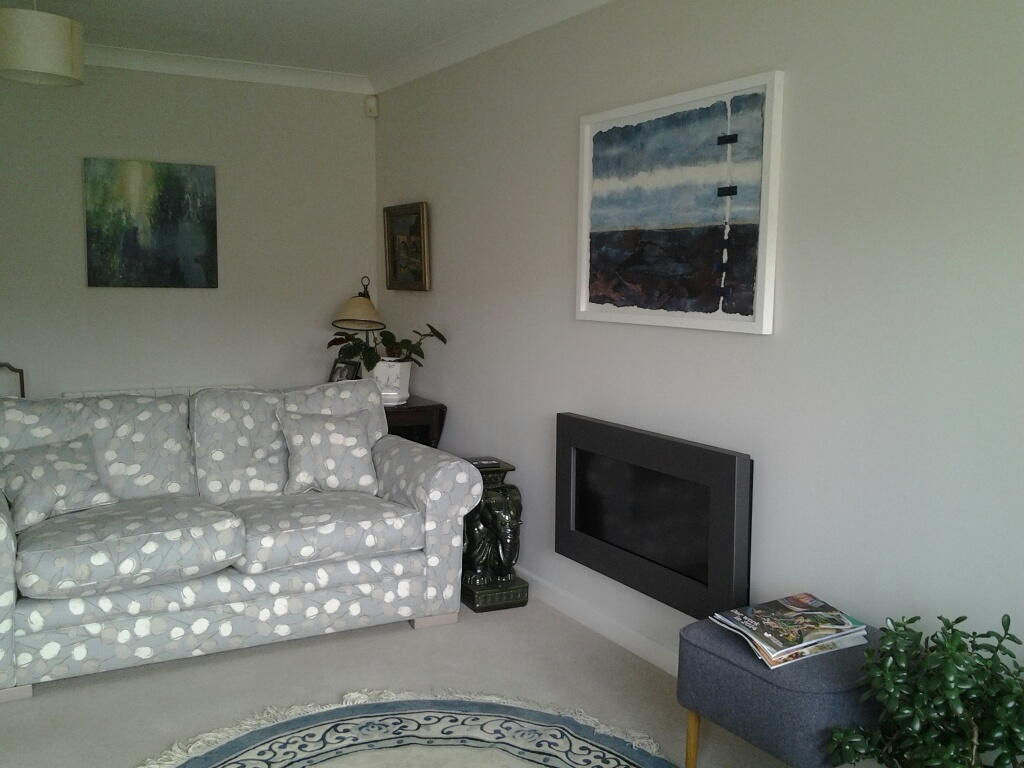 'Quiet Sea' in its new home