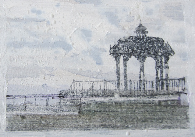 Snowy Bandstand - sold, Mayor's Parlour Gallery
