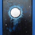 small night sky painting