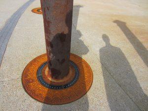 restored column