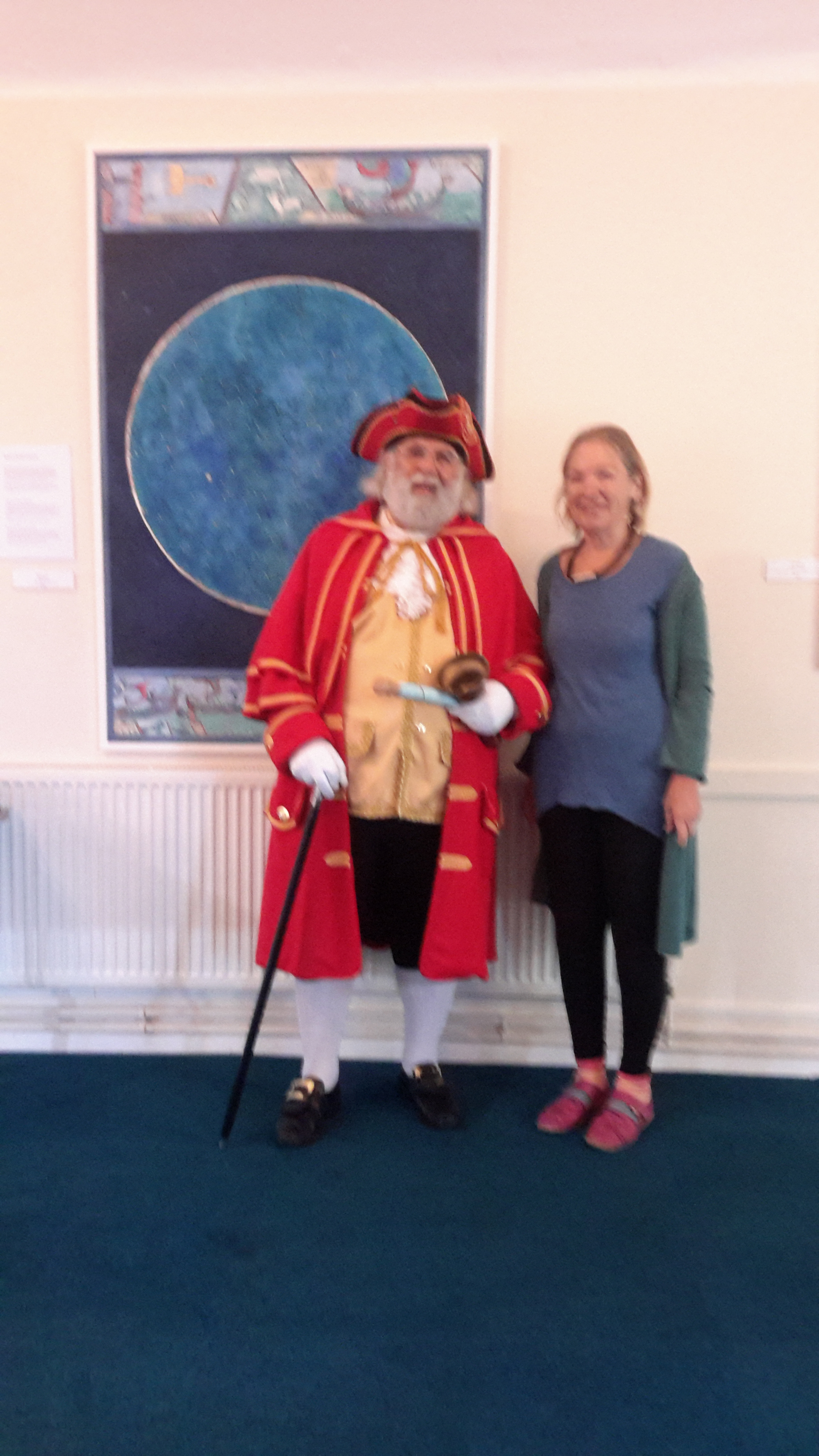 Town Cryer at exhibition