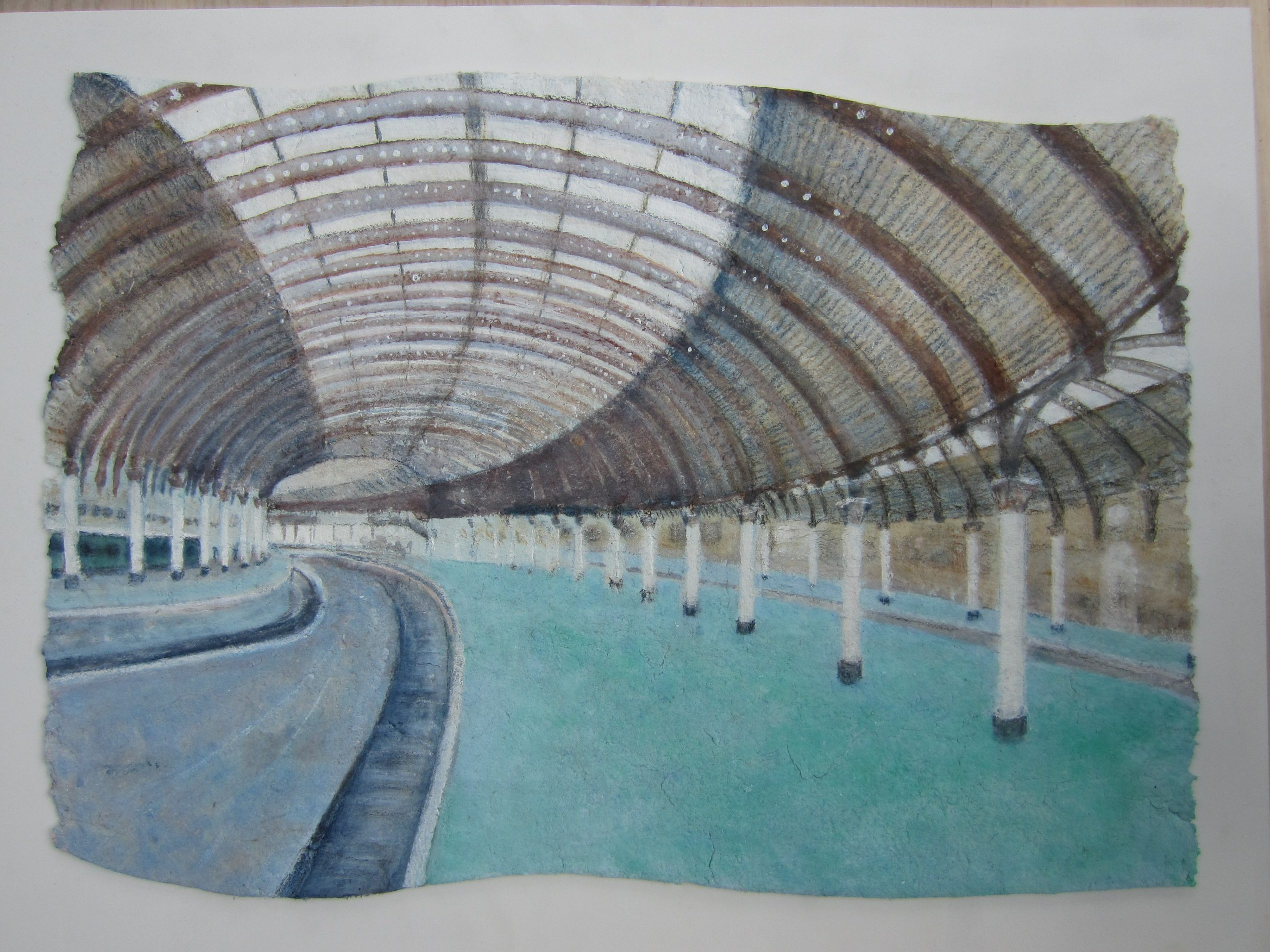 painting of York Station