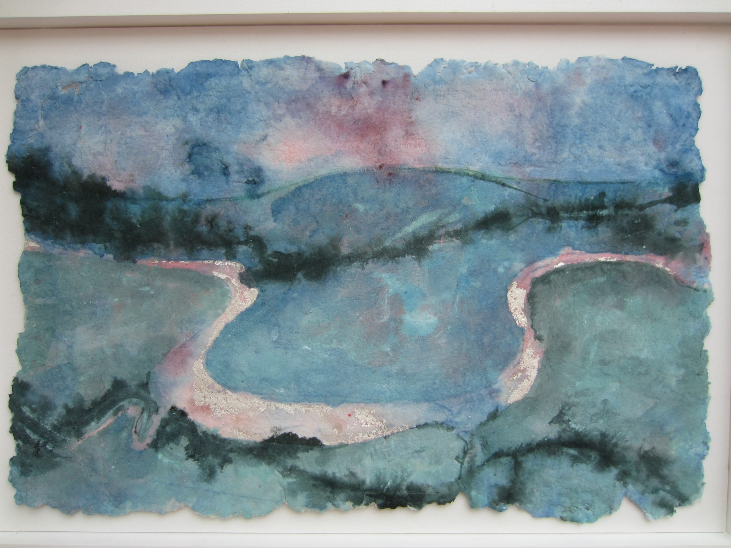 Painting of Cuckmere Haven